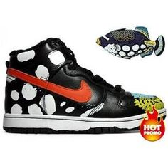 new style 58175 d7a80 Mens Nike Dunk High Triggerfish Customs