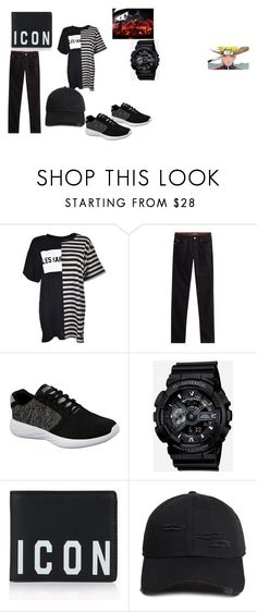 """""""cool boy 21"""" by earlfiy on Polyvore featuring LES (ART)ISTS, Michael Kors, Skechers, G-Shock, Dsquared2, 21 Men, men's fashion and menswear"""