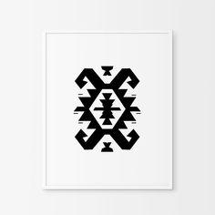 Pirot kilim ,Ikat,Nordic Wall Art,Ikat Print,Nordic Prints,Southwestern Decor,Tribal Art, Mayan Print,Nordic Design,South West Print,Navajo