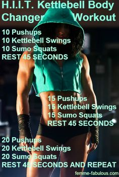 Go to http://workout.mynewsportal.net for new workout lessons - H.I.T.T. kettlebell workout