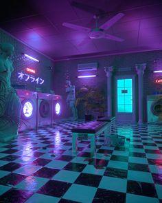 Cyberpunk Aesthetic, Neon Aesthetic, Aesthetic Rooms, Aesthetic Poetry, Neon Backgrounds, Aesthetic Backgrounds, Aesthetic Wallpapers, Purple Aesthetic Background, Look Wallpaper