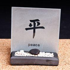"""Teelicht Zengarten """"Peace"""" Feng Shui, Zen, Place Cards, Place Card Holders, Shopping, Garten"""