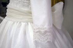 Medias mangas en los vestidos de comunión