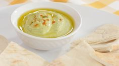 ¡Práctico, nutritivo y sabroso! Hummus Verde/ Green hummus: nutritious, easy and delicious