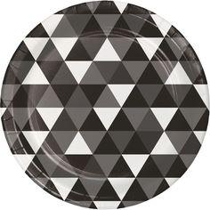 """8 3/4"""" Black Velvet Paper Dinner Plate/Case of 96 Tags: Fractal; Dinner Plate; Fractal; Fractal Black Velvet Dinner Plate; https://www.ktsupply.com/products/32786350953/8-34doublequote-Black-Velvet-Paper-Dinner-PlateCase-of-96.html"""