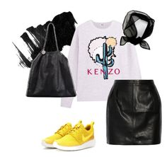 """""""Do you like me now?"""" by trendsy ❤ liked on Polyvore featuring Kenzo, BLK DNM, STELLA McCARTNEY and NIKE"""