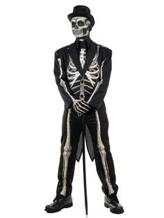 Check out Men's Plus Size Bone Chillin Costume - Wholesale Horror Costumes for Adults from Wholesale Halloween Costumes