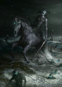 ArtStation - Nuckelavee, Artem Demura.It has is the most horrible of all the demons of Scotland's Northern Isles.