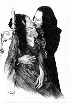 Bram Stoker Dracula sketch