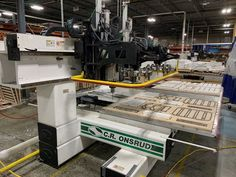 2008 C.R. Onsrud CNC Router Model 148HD18DH2 $72,000.00 #machineryassociates #machineryforsale #usedmachine #usedmachinery #cnc #cncrouter #router #cncmachining #woodworking #woodworkingmachinery Machinery For Sale, Used Woodworking Machinery, Cnc Machine, Cnc Router, Model, Cnc Milling Machine, Desktop Cnc, Scale Model