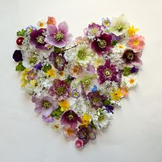 What a truly seasonal British Valentine�s bouquet looks like � hellebores, daffodils, primroses, snowdrops, violets and more