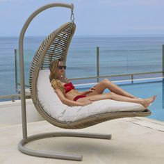 Drone Hanging Chair by Skyline, - This might be a little too out there but cool ,