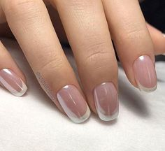 nice french nails