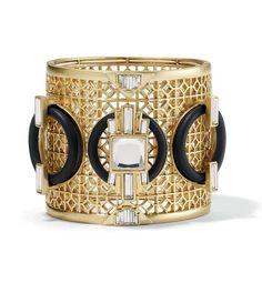 Best Diamond Bracelets  : Eclectique Stretch Cuff Bracelet. http://ift.tt/2vcpgH3