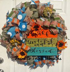 Check out this item in my Etsy shop https://www.etsy.com/listing/550619249/best-autumn-wreath24-inch