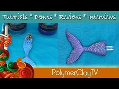 Mermaid Tail Silicone Mold for Polymer Clay and more – Create Along with Polymer Clay TV