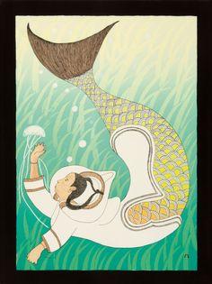 Inuit mermaid