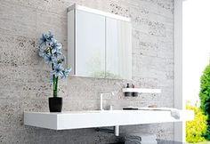 Luce Plus Kosmetik Box, Filigranes Design, Aluminium, Bathroom Lighting, Designer, Mirror, Furniture, Home Decor, Bathroom Mirror Cabinet