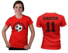 d0a7e2ee3 58 Best Soccer Mom Shirts images | Mom shirts, Football mom shirts ...