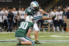 Green Wave FB Kicker Cairo Santos was named Conference USA 1 Special Teams Player of the Week: