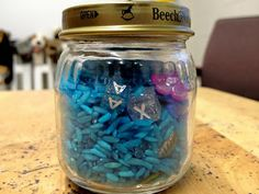 RELAX Jar - Instead of counting to 10 to calm down, why not make a RELAX jar? Turn the jar until you find all of the letters to spell RELAX.
