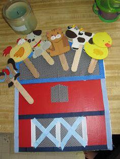 "Farm Theme Preschool: The ""Unworking"" Mom: Old McDonald Had a Farm Farm Activities, Animal Activities, Preschool Themes, Toddler Activities, Preschool Activities, Circle Time Activities, Thanksgiving Activities, Farm Animal Crafts, Farm Crafts"