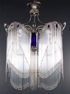 Guimard Chandelier c. 1908-10 ~ Art Nouveau Design by Hector Guimard (French, 1867-1942) by aileen