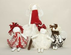 Woof N Poof Christmas dolls