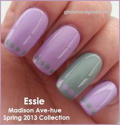 46 Ideas nails easter design lavender for 2019 Maroon Nails, Burgundy Nails, Spring Nails, Summer Nails, Hair And Nails, My Nails, American Nails, Easter Nails, Halloween Nail Art
