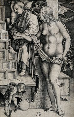 Durer, The Doctor's Dream, wellcomelibrary.blogspot.com