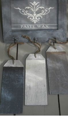Paste Wax Painting The Past - kleur Taupe