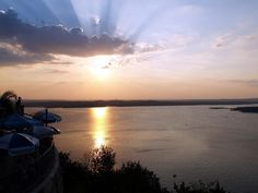 Because the sunsets on Lake Travis look like this.