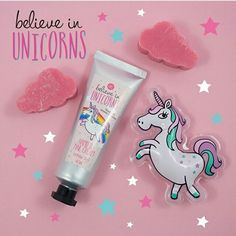 Believe in unicorns hand and nail cream