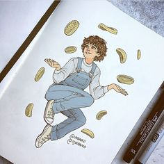 I thought this was Oikawa and was about to pin it but I realized it was actually Eleven but I'm pinning it anyway cause she's adorable.