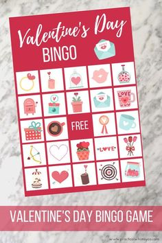 My printable Valentines Day BINGO game is a perfect activity for a classroom activity, family gathering or even birthday party! click thru to view all my bingo games! Valentine Bingo, Valentines Day Party, Valentines Day Decorations, Printable Valentine, Valentine Activities, Kid Activities, Valentine Crafts, Valentine's Day Party Games, Birthday Party Games