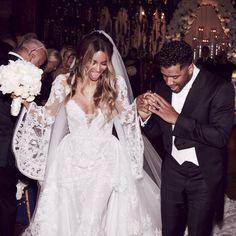 Ciara - Celebrity Wedding Dresses - Photos