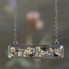 Windowsill Necklace in Fine Silver