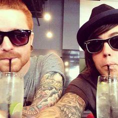 Kellin Quinn & Matty Mullins