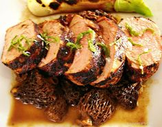 Morel Mushroom Sauce Recipe Morel mushrooms are delicious and this sauce will deliver a nice boost to grilled steaks, chops, and roasts. Morel Mushroom Recipes, Mushroom Gravy, Mushroom Sauce, Mushrooms Recipes, Sauce Recipes, Beef Recipes, Cooking Recipes, Drink Recipes, Chicken Recipes