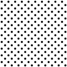 White and Balck Polka Dot