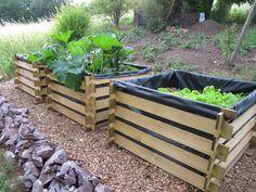 Die 12 Besten Bilder Von Hochbeet Gardening Backyard Patio Und