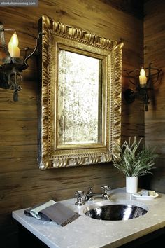 Architect D. Stanley Dixon and designer Nancy Warren create a new vision of refined rustic living.