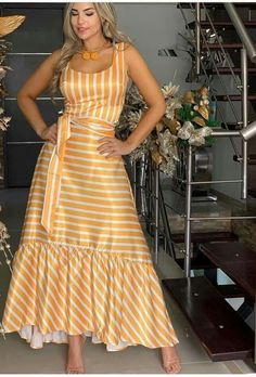 Pretty Prom Dresses, Beautiful Dresses, Summer Dresses, Women's Fashion Dresses, Dress Outfits, Casual Dresses, Indian Designer Outfits, Designer Dresses, Striped Maxi Dresses