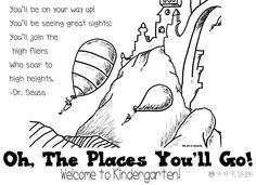 Back To School Postcards, Dr. Seuss, Grades K-6