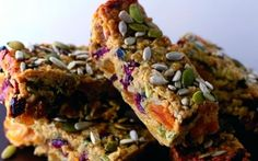 Fruity Oats & Seeds Flapjack with Condensed Milk