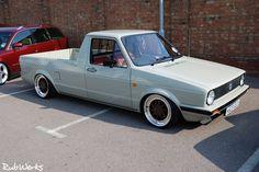 """Slammed VW Rabbit Pick-up """"Caddy"""""""