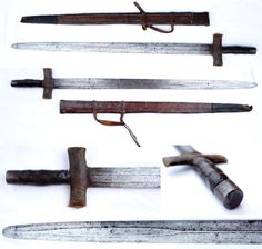 North Cameroon broadsword.
