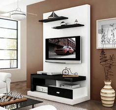 3 Admirable Simple Ideas: Floating Shelves Around Tv Tv Consoles floating shelves closet bedrooms.How To Hang Floating Shelves Doors. Lcd Wall Design, Lcd Unit Design, Hallway Storage, Bathroom Storage, Ikea Storage, Bathroom Closet, Wall Storage, Closet Storage, Closet Shelves