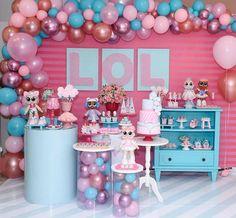 #Repost • • • Lol!💗💗💗 Via @upandjoin - Transbordando de felicidade pelo resultado dessa montagem da LOL 💕💕💕💕💕 Linda mesa montada pela… Surprise Party Decorations, Birthday Decorations, Adoption Party, Doll Party, 6th Birthday Parties, Birthday Ideas, Lol Dolls, Party Activities, Fun Crafts For Kids