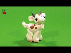 Cute Kawaii Goat polymer clay tutorial
